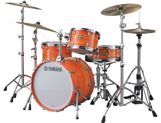 Yamaha Club Custom Swirl Orange Finish