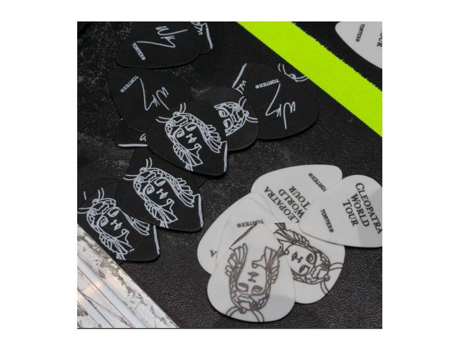 "Jim Dunlop Tortex Custom ""The Lumineers"" Guitar Picks"