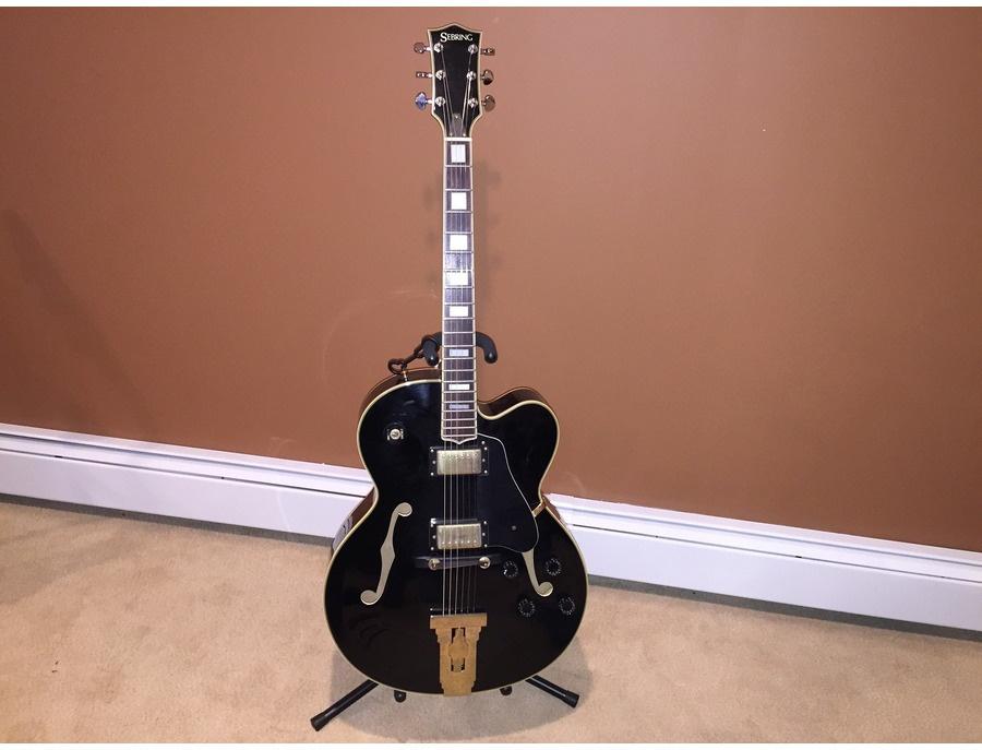 Sebring Hollow-Body Electric Guitar