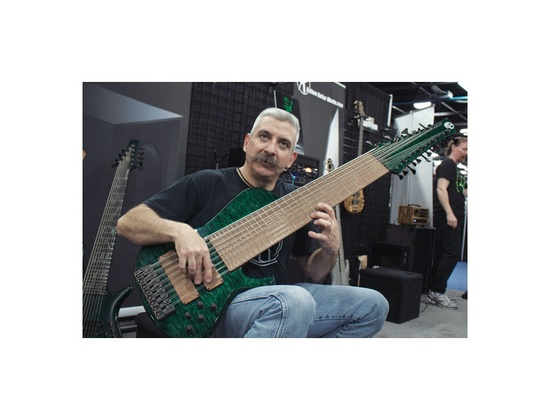 Prat Custom 24-String Bass Guitar