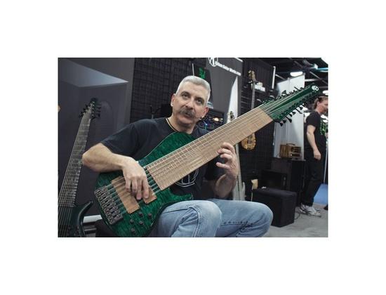 Prat Custom 24-String Bass Guitar