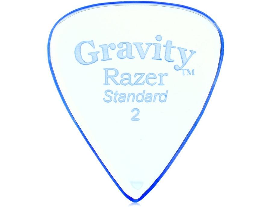 Gravity Picks Standard Size 2mm Razer Guitar and Bass Picks