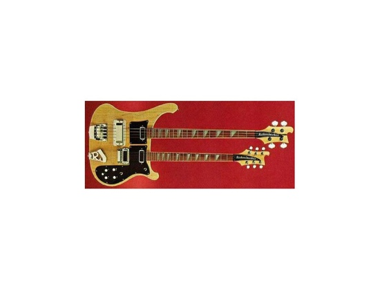 Rickenbacker 12-string + Bass Double-neck guitar