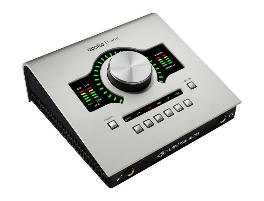 Apollo twin duo thunderbolt audio interface from universal audio xl