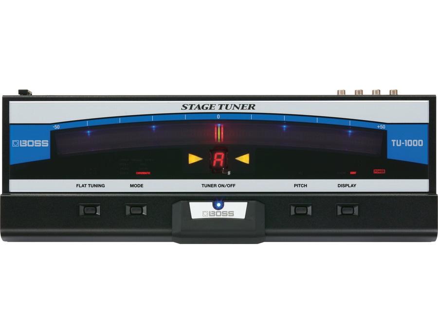 BOSS TU-1000 Stage Tuner