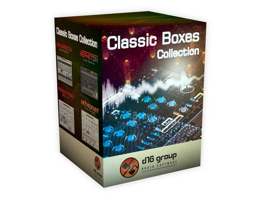 D16 Group Audio Software Classic Boxes