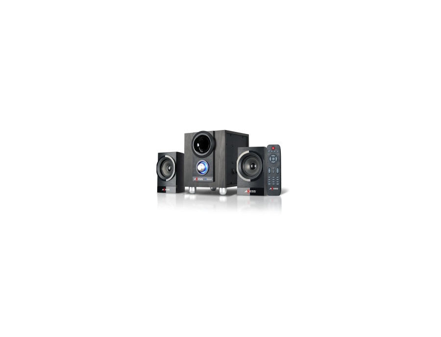 Axess Mini Entertainment System with Bluetooth