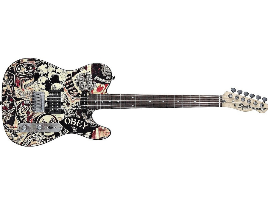 Squier by Fender OBEY Telecaster HS Collage