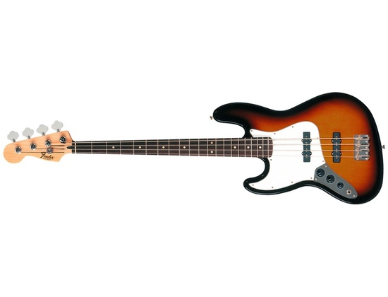 Fender Standard Jazz Bass Left Handed