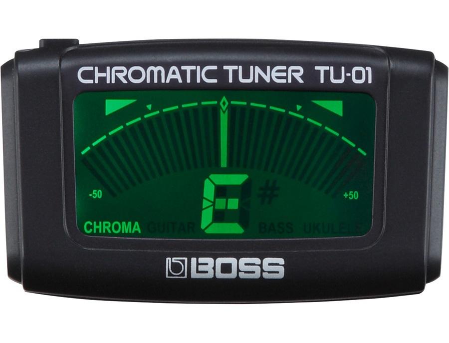 Boss tu 01 clip on chromatic tuner xl