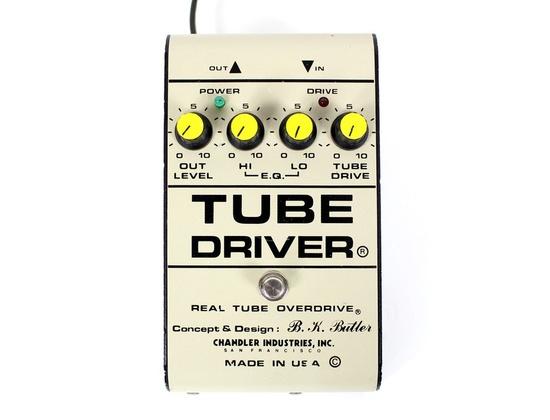 Chandler Tube Driver Tube Overdrive Pedal