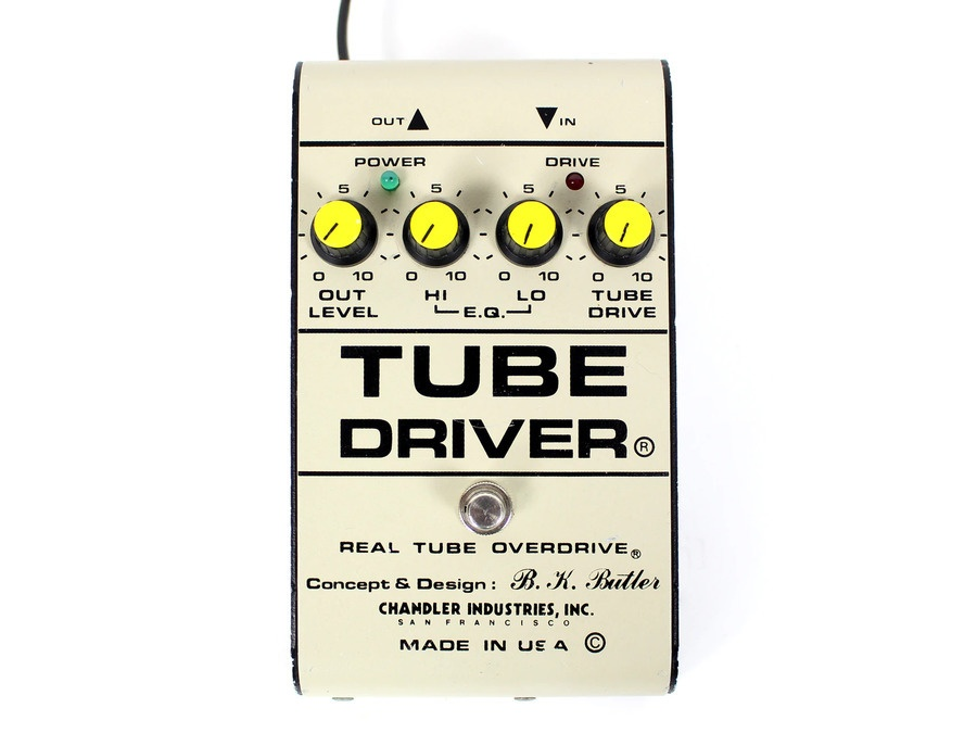 david gilmour 39 s chandler tube driver tube overdrive pedal equipboard. Black Bedroom Furniture Sets. Home Design Ideas