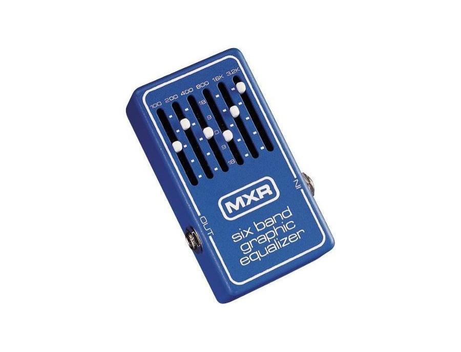 MXR 6-Band Graphic Equalizer