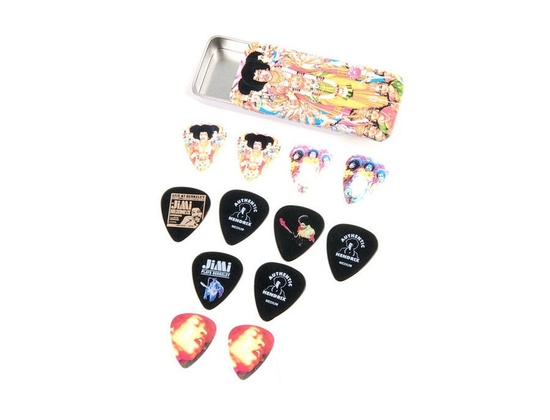 Dunlop Jimi Hendrix Plectrum Set Medium Axis Bold As Love