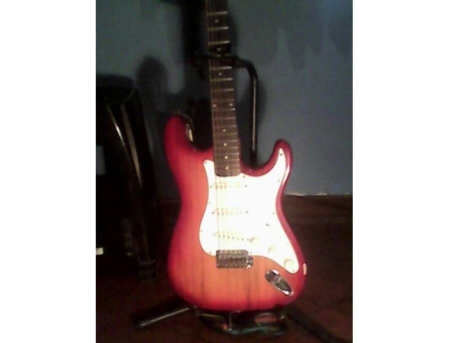 Steel Stratocaster Sunburst