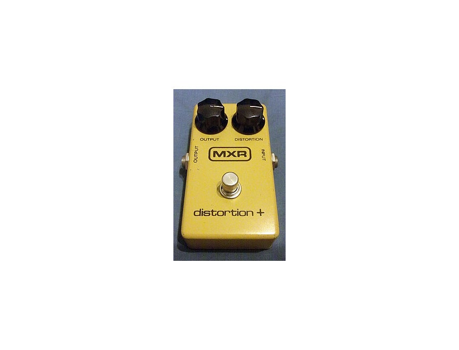 MXR distortion + (late seventies model)
