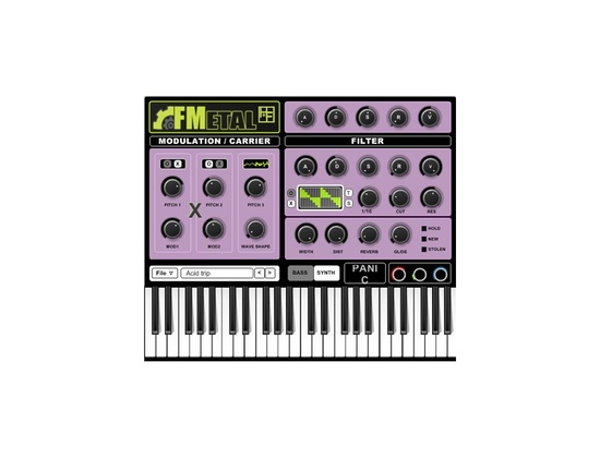 Hinton & Fairchild FMetal VST