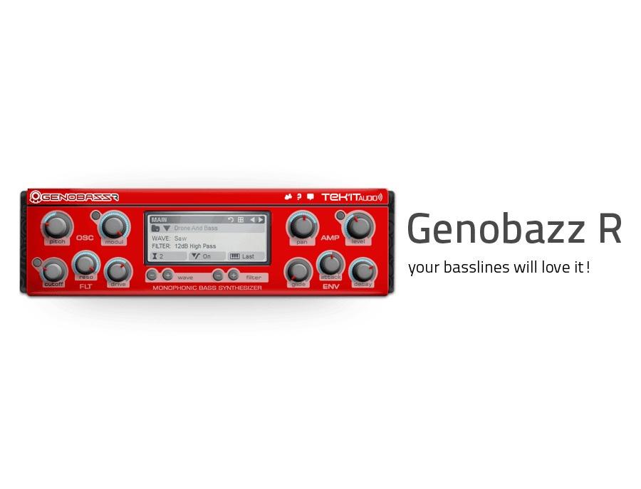 Tek'it Audio Genobazz R monophonic bass VST