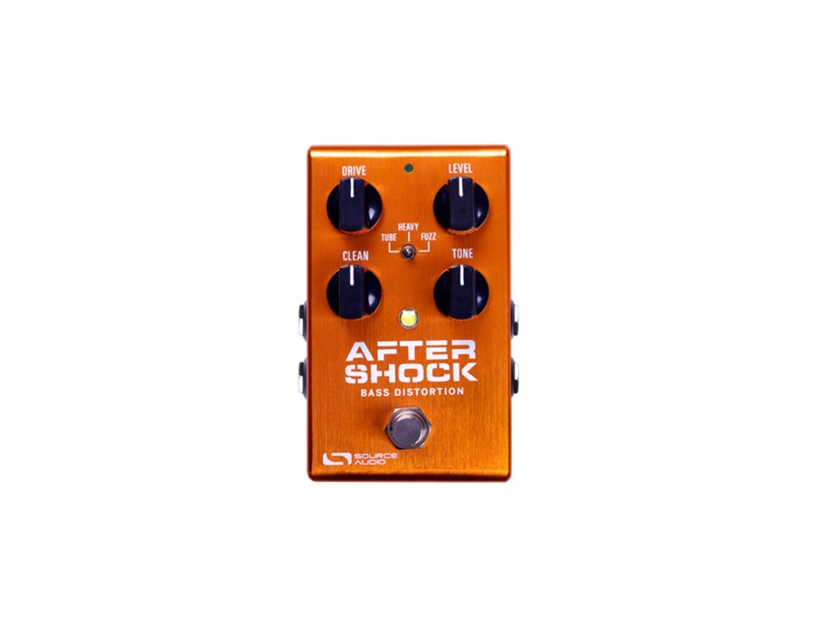 Source audio aftershock bass distortion xl