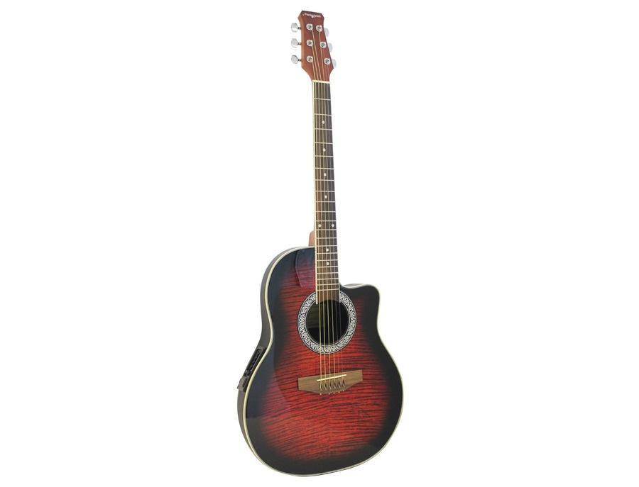 Martin Smith R202 Electro-Acoustic Roundback – Red