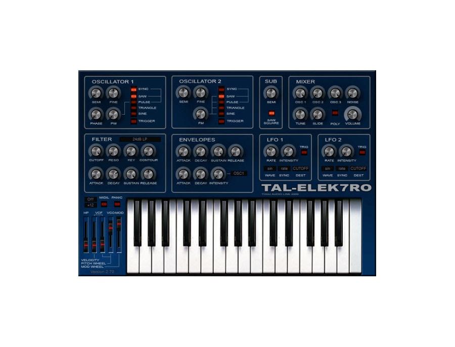 TAL-Togu Audio Line TAL-Elek7ro-II