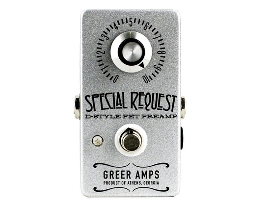 Greer Amps Special Request