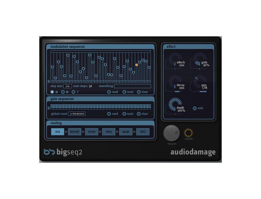Audio damage bigseq2 xl