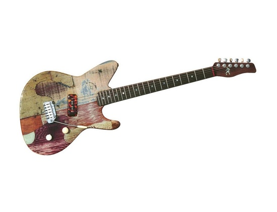 Spalt Puzzle Stratocaster