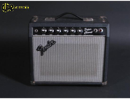 Fender super champ (Rivera)