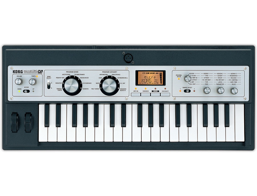 Korg microkorg xl music synthesizer xl