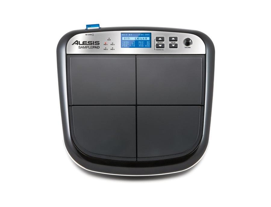 alesis samplepad multi pad sample instrument reviews prices equipboard. Black Bedroom Furniture Sets. Home Design Ideas