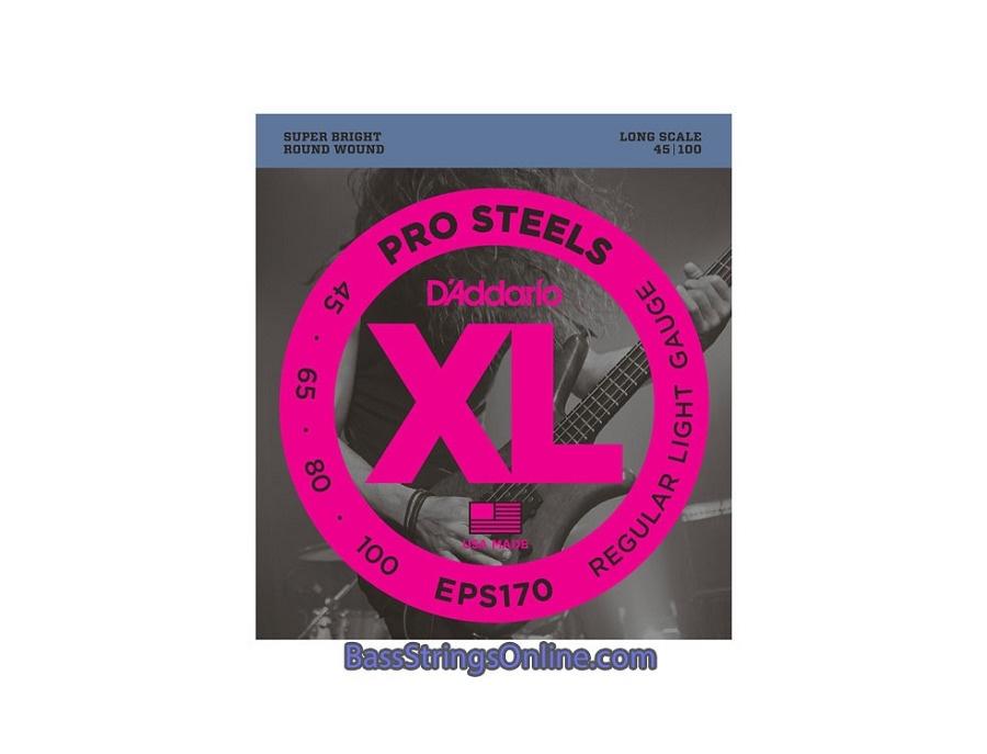 D'Addario Pro Steels 45-100 Regular Light Gauge