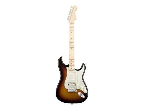 Fender American Deluxe Stratocaster HSS Maple Neck 3 Colour Sunburst