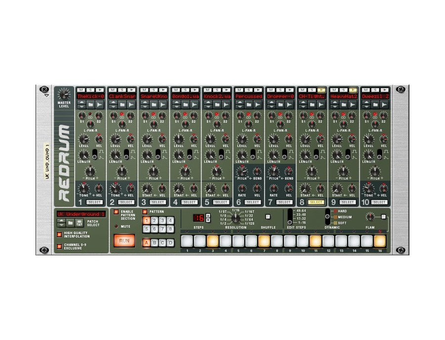 Propellerhead Reason Redrum Sampler