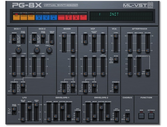 ML-VST PG-8X