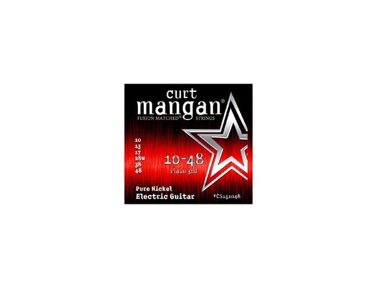 Curt Mangan Fusion Matched Strings 10-48 Pure Nickel Electric Guitar