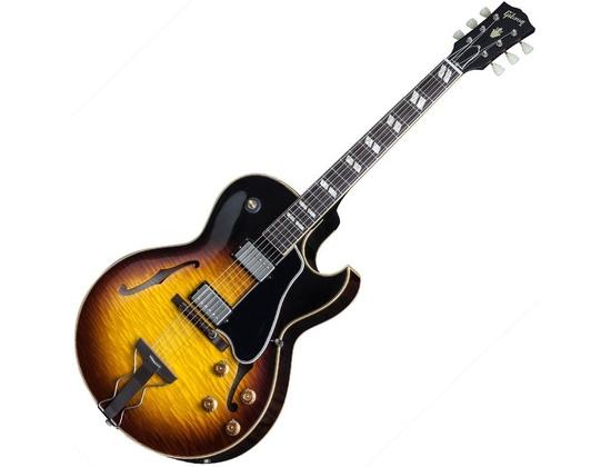 Gibson Memphis 2015 1959 Figured ES-175 Guitar - Vintage Burst