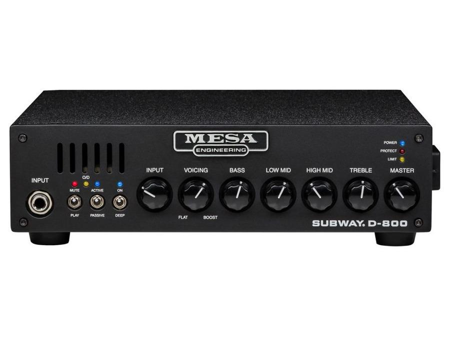 Mesa boogie subway d 800 bass amplifier xl