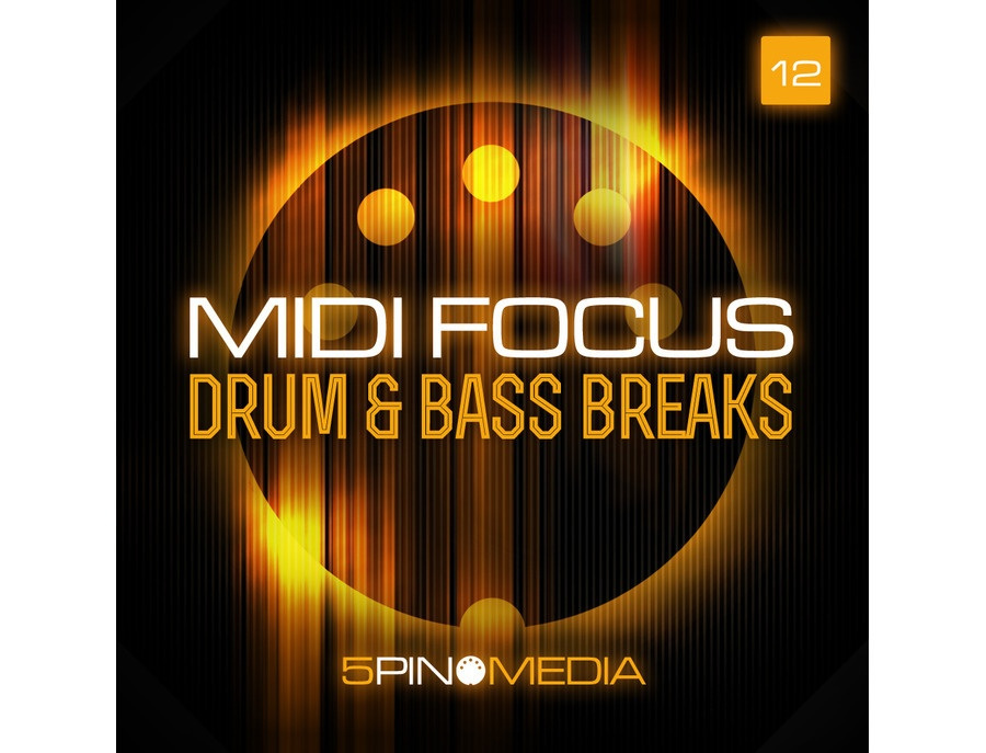 5Pin Media MIDI Focus - Drum & Bass Breaks