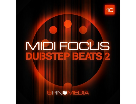 5Pin Media MIDI Focus - Dubstep Beats 2