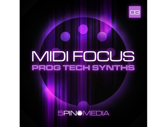5Pin Media MIDI Focus - Prog Tech Synths