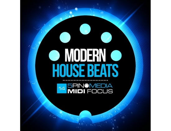 5Pin Media MIDI Focus - Modern House Beats