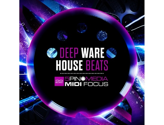 5Pin Media MIDI Focus - Deep Warehouse Beats