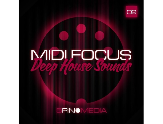 5Pin Media MIDI Focus - Deep House Sounds