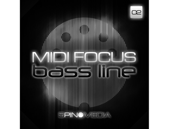 5Pin Media MIDI Focus - Bass Line