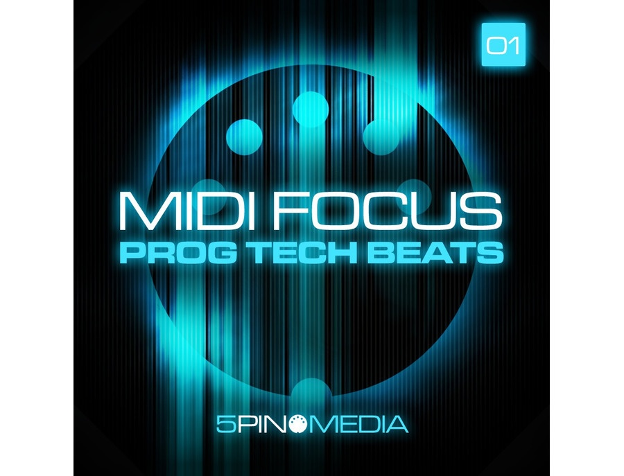 5Pin Media MIDI Focus - Prog Tech Beats