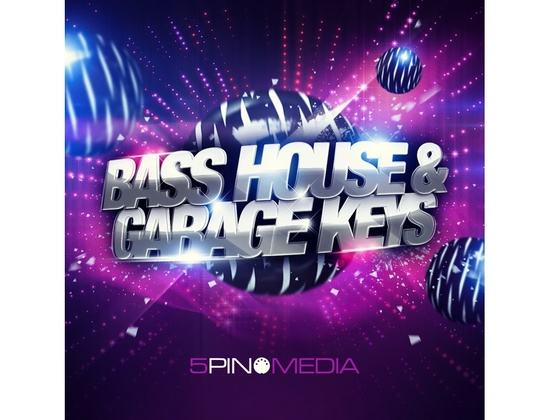 5Pin Media Bass House & Garage Keys