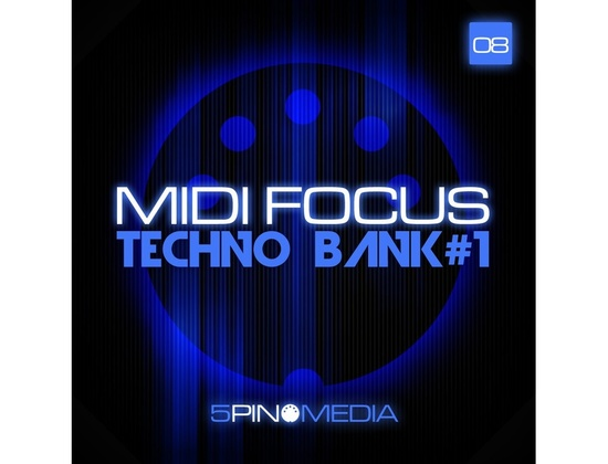 5Pin Media MIDI Focus - Techno Bank #1