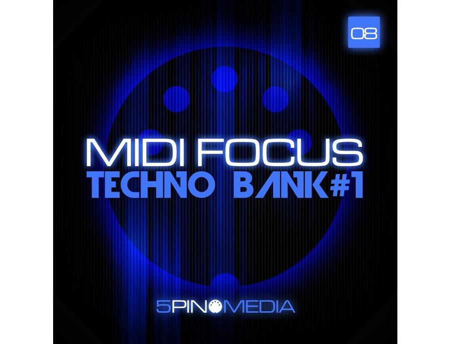 5Pin Media MIDI Focus - Techno Bank #1