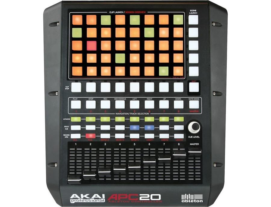 Akai professional apc20 ableton live performance controller xl